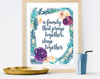 Pray Together Etsy