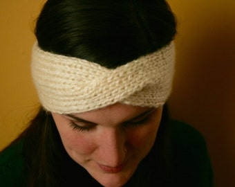 Knit Twisted Turban Headband