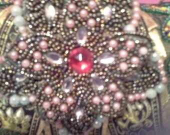 Beautiful beaded purse