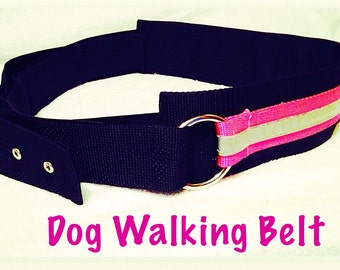 Dog Walking Belt - Reflective