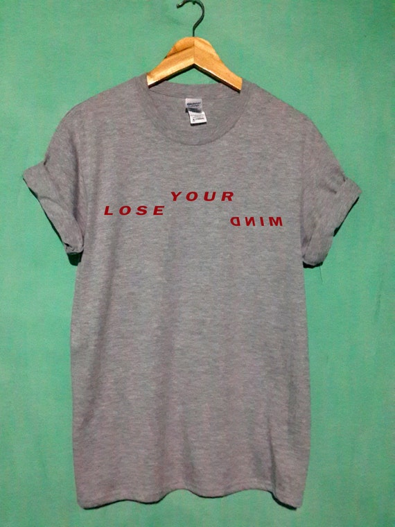 teen wolf shirt lose your mind tshirt lose your mind t shirt lose your mind tank stilinski shirt size S,M,L,XL