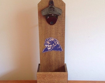 Wall mounted bottle opener - Pittsburgh Panthers