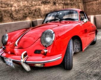 1965 Porsche 356 - Automobile Photography, Classic Cars, Automotive Photography, Classic Automobiles, Automotive Decor, Old Car Pictures