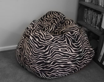 Zebra large Bean bag