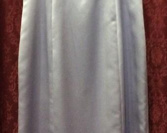 Violet Beaded Long Bridesmaid Prom Dress Handmade Vintage Size 12