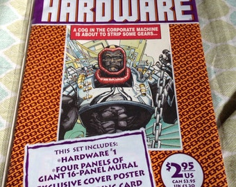 Hardware #1 first issue collectors item