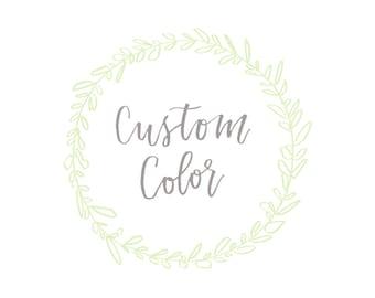 Custom Color - Add On
