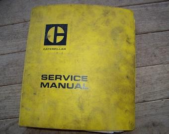 Vintage 1975 Caterpillar 966 Wheel Loader Service Manual