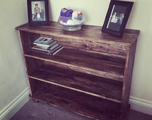 Bookcases, Shelf Units and Shoe racks - Handmade, solid wood, made to measure, reclaimed wood