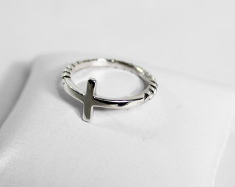 Ring Silver 925 crosses