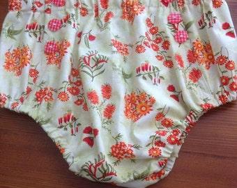 Vintage Bloomers pattern, 12-18months