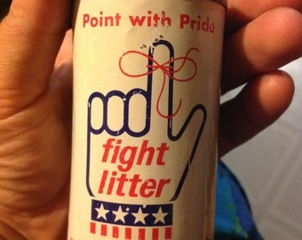 advertising bank point with pride fight litter continental can company small coin piggy bank