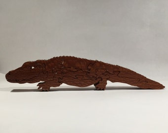Wooden Alligator Puzzle