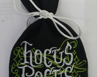 Halloween treat bag, hocus pocus treat bag
