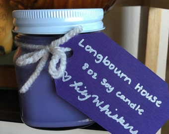 Soy candle Longbourn House, 8 oz