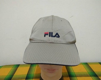 Rare Vintage FILA Sport Cap Hat Free size fit all