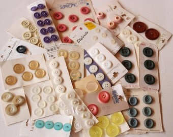 FREE SHIPPING Vintage Button Collection