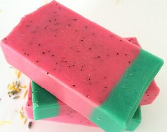 Soap Bars, Watermelon Soap, Soap, Handmade Soap, Homemade Soap, Natural Soap, Soap Gift, Soap Sale
