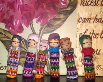 Worry Dolls AKA Trouble Dolls - Handmade in Guatemala