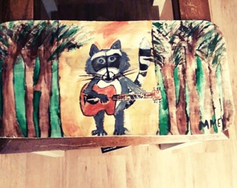 Rockin Raccoon outsider art