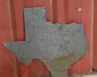 Plain State Metal Sign