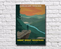 Great Smokey Mountains National Park Poster - #0082