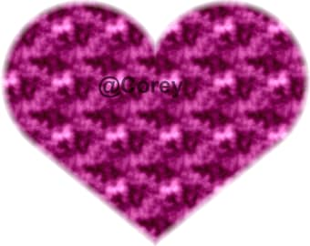 Purple Hazy Heart