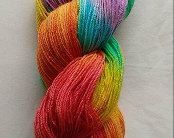 Rainbow 4ply Sock yarn
