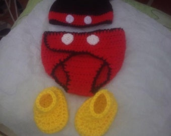 Mickey Mouse baby outfit