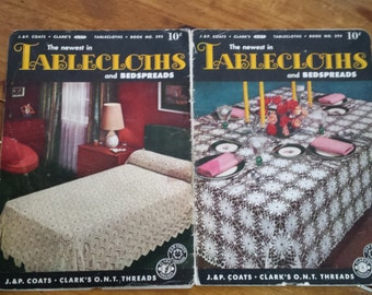The Newest inTablecloths and Bedspreads Book No. 295 1952
