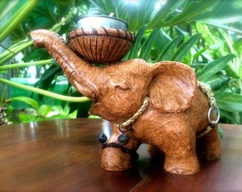 Large Elephant Candleholder - The Elephant in the Room
