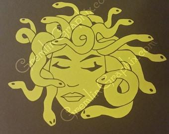 Medusa Decal