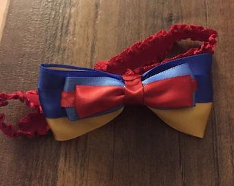 Snow White Baby Headband