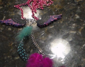 J-62 Open Winged Pendent