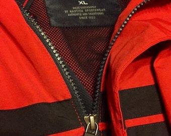 Nautica Red zip up jacket