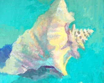 Teal Conch