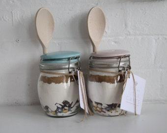Cookie mix jar
