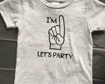 I'm 1 Let's Party