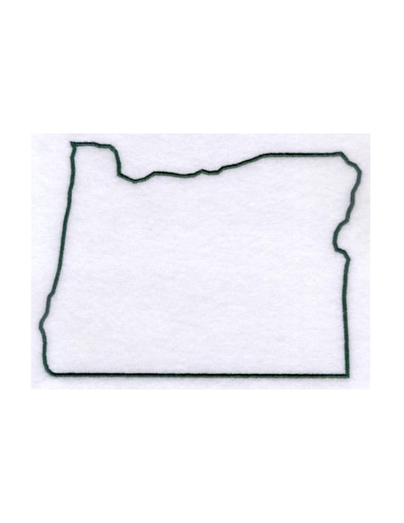Oregon Stencil Made From 4 Ply Mat Board By