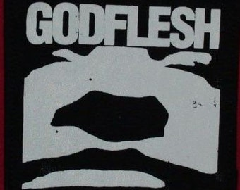 GODFLESH (15) patches industrial metal punk