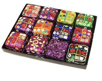 Mini Square Trinket Jewellery Box