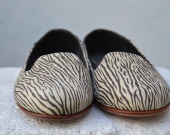 Handmade Flat Leather Shoe