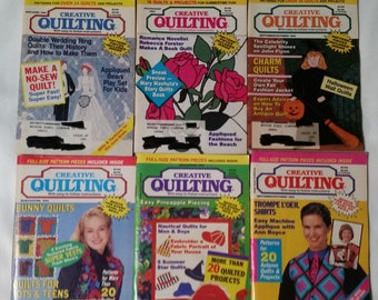 Quilting books-lot of 6