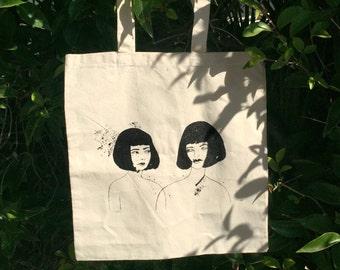 She & Her - Silkscreened Tote Bag