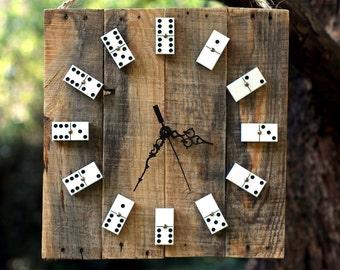 Domino Clock | Handmade