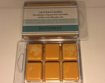Butterbeer Harry Potter Scented Soy Wax Tart Melts