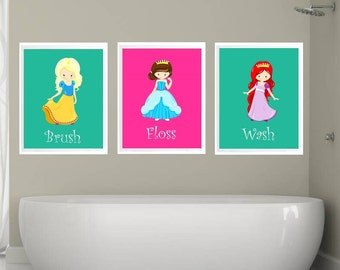 Princess tiana bathroom set