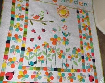 Twin Garden Quilt