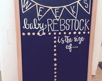 Baby Bump Weekly Board