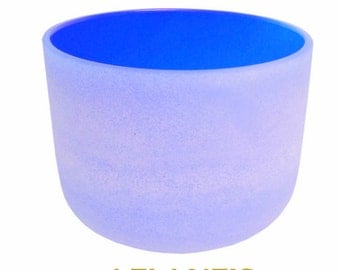 Crystal Singing Bowl - Atlantis Blue